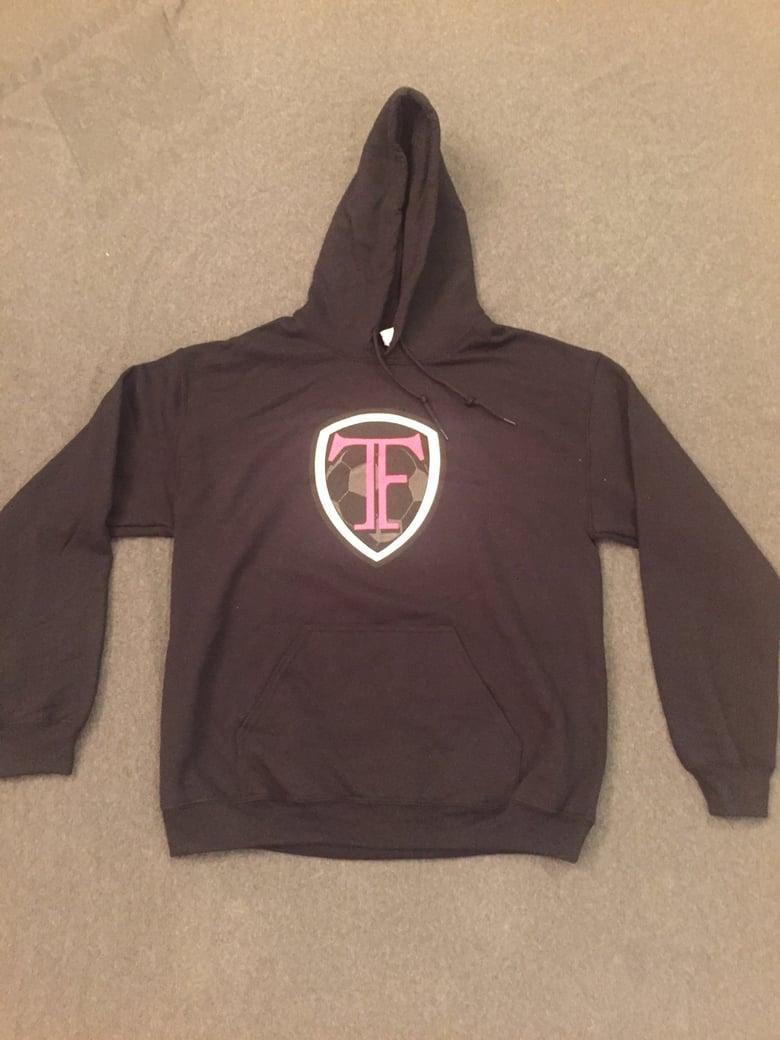 Image of Black TF Hoodie