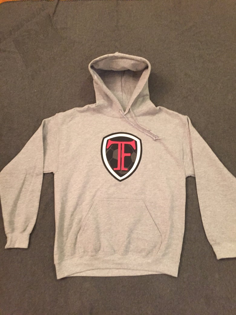 Image of Gray TF Hoodie