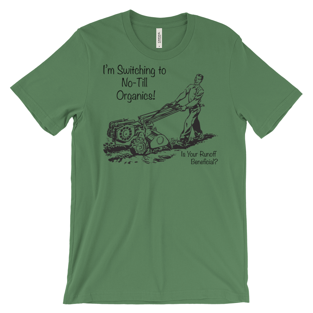 Image of I'm Switching to No-Till! Unisex T-shirt