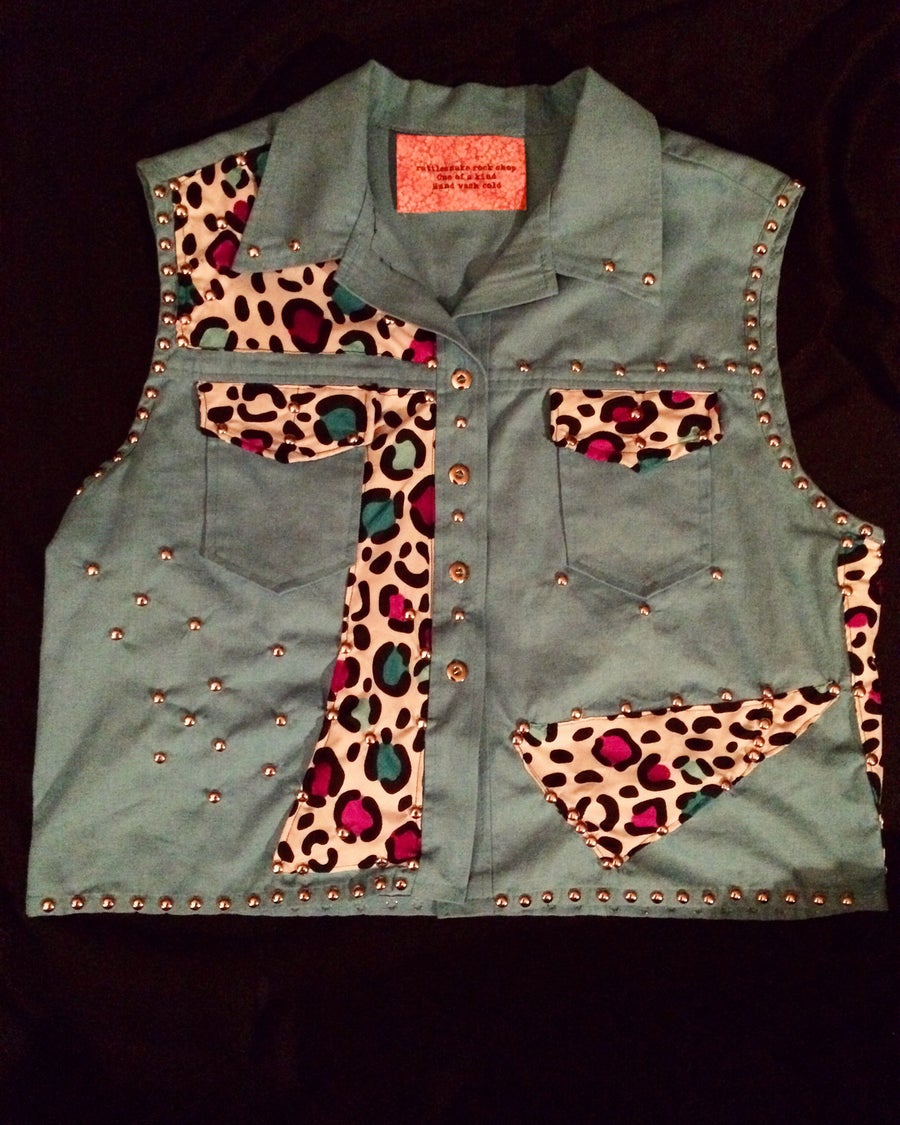 Image of Lil Miss 80's Plus Sized Vest
