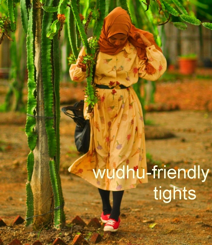Image of Wudhu-friendly Tights