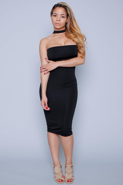 Image of Choker style dress