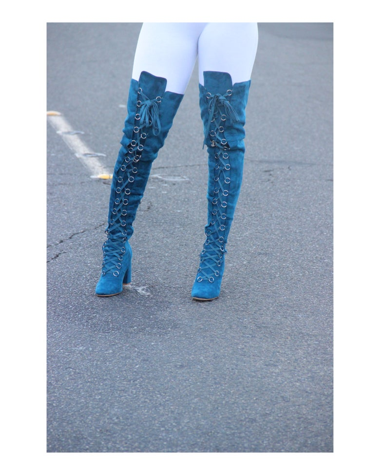 Image of Corset style boots