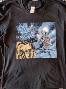 Image of Descend Into Madness Artwork T-Shirt *NEW*