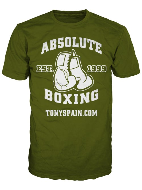 Image of Absolute Boxing T-shirt (Black/Pink or Army/White)