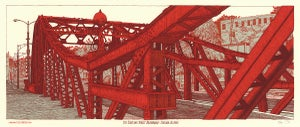 "Image of ""The Cortland Street Drawbridge"" • Limited Edition Art Print (9.5"" x 24"")"