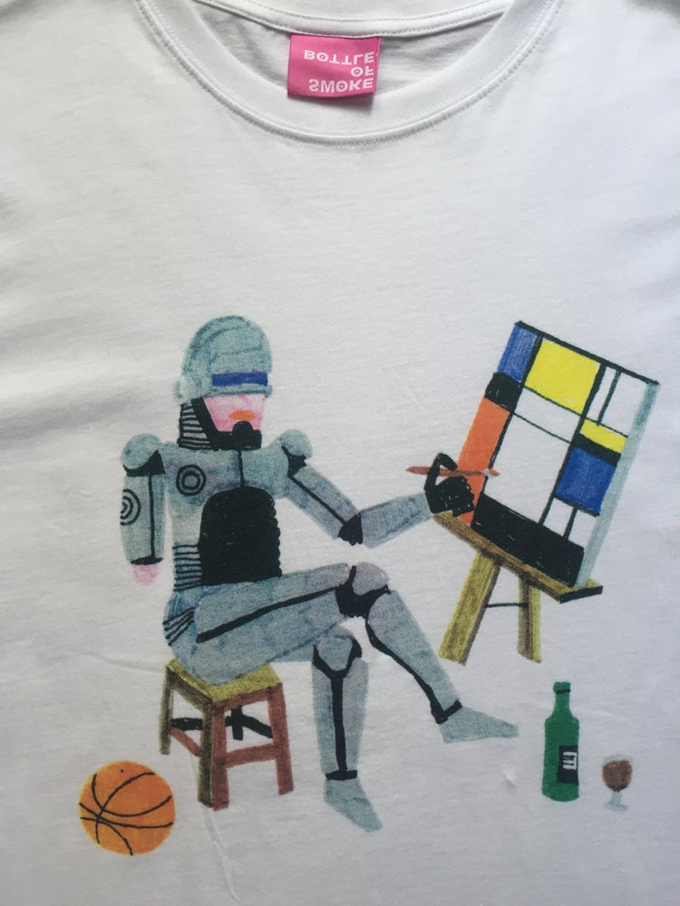 Image of ART t-shirt by Germes Gang