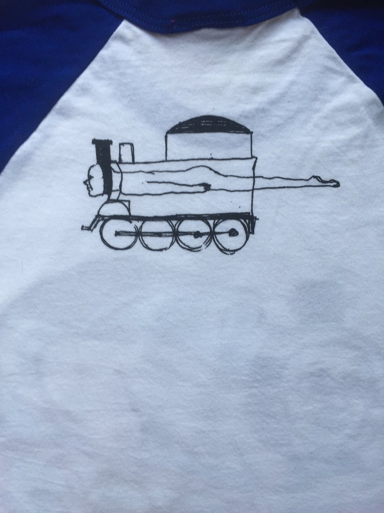 Image of CHOO CHOO baseball t-shirt