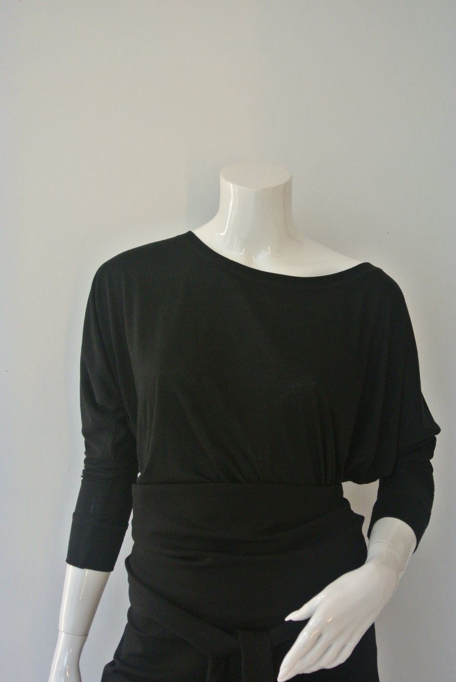 Image of Flowy Off Shoulder L8850