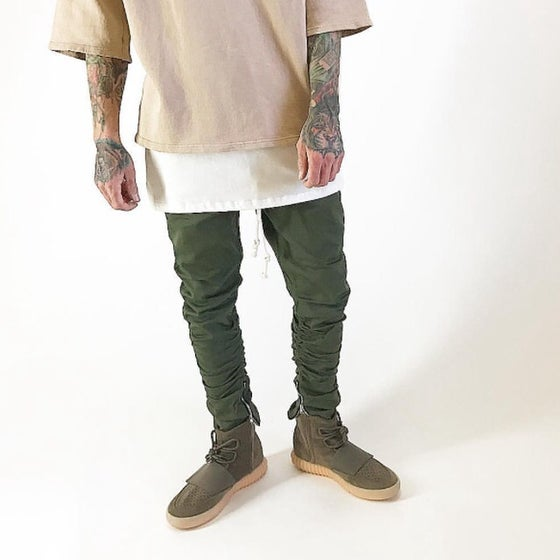 Image of Ankle Zip Pants