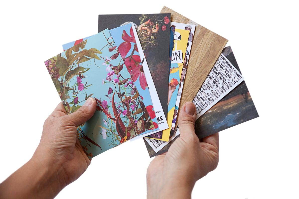 Image of Fallen Fruit postcard set