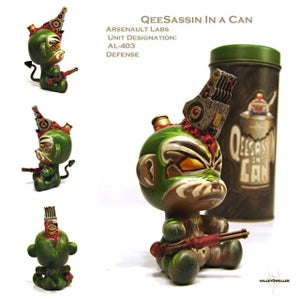 Qeesassin in a can: pick one