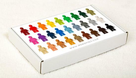 Image of SET OF 27 LEGO MONOFIGS