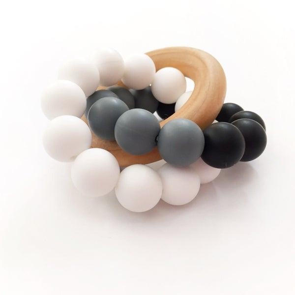 Image of Bryn - Silicone & Wood Teether