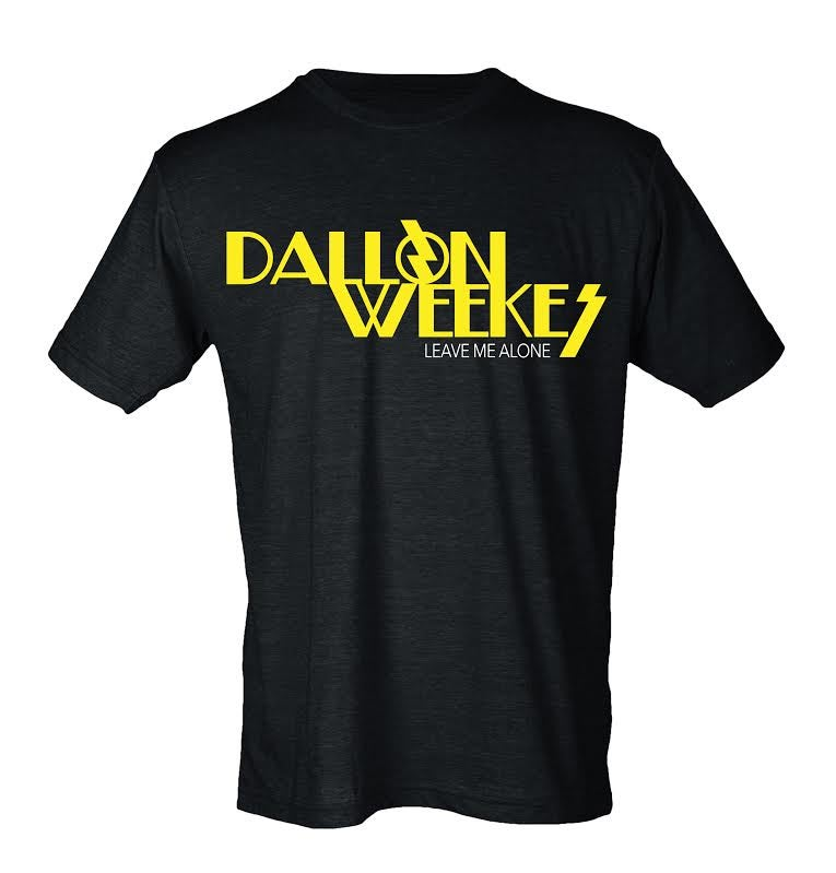 Image of DALLON WEEKES Leave Me Alone Tee