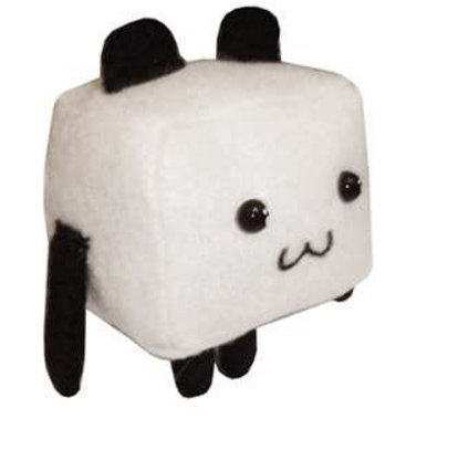 Image of Tofu Panda Cube Toy