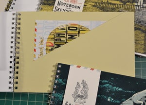 Image of The Official Landland Test Print Notebook and/or Sketchbook