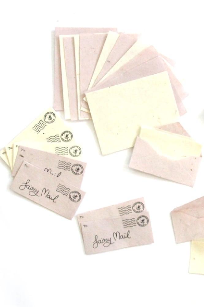 Image of Fairy Mail - A Teeny, Tiny Stationery Set