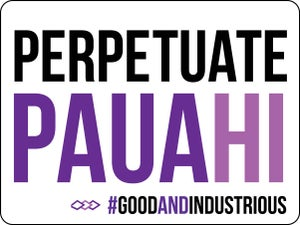Image of Perpetuate Pauahi Sticker