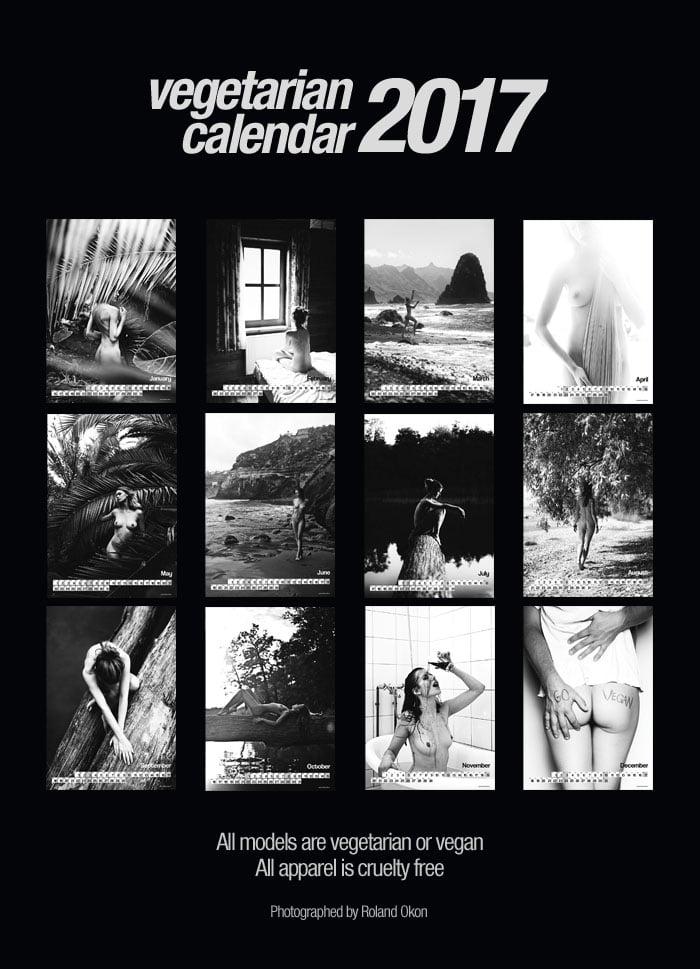 Image of Vegetarian Calendar 2017