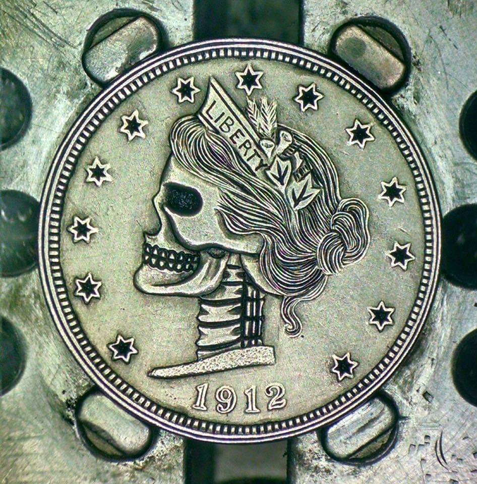 Image of V-Nickel Skull