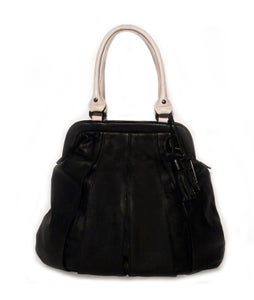 Image of BALLOON ZIP CLASSIC 2-colour black/pale