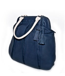 Image of BALLOON ZIP CLASSIC 2-colour blue/pale