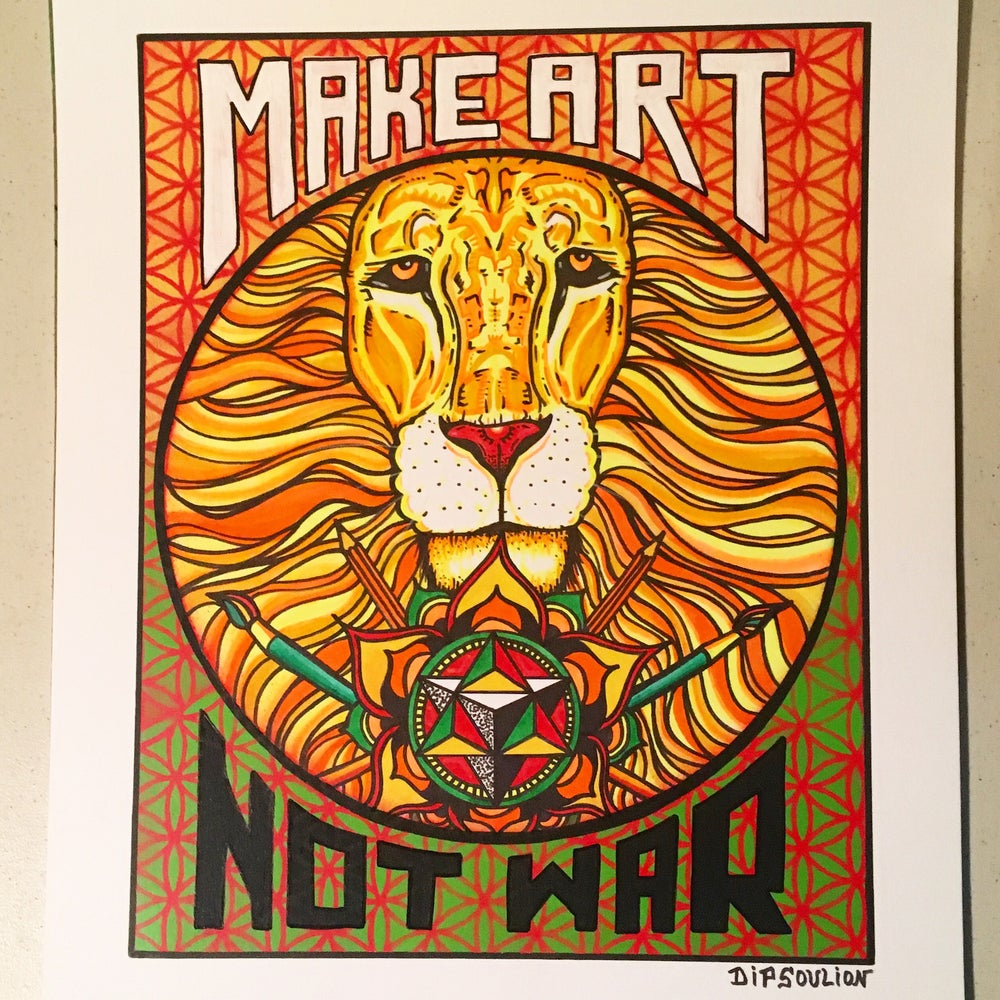 Image of Make Art Not War