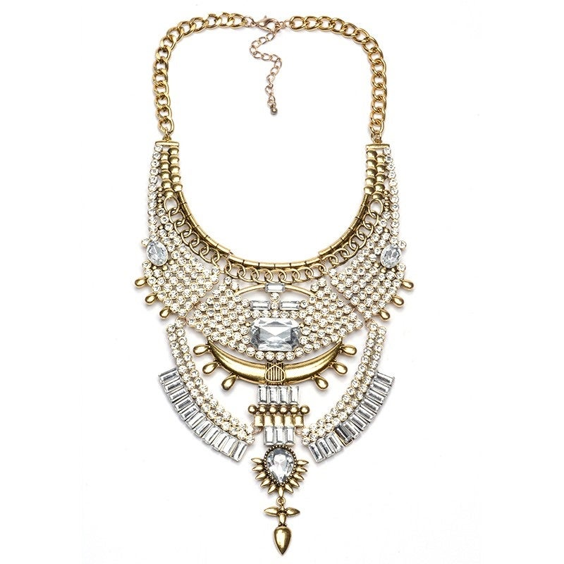 Image of The Slayed Statement Necklace GOLD