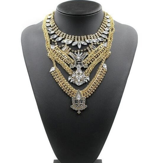 Image of 'T' Layered Necklace