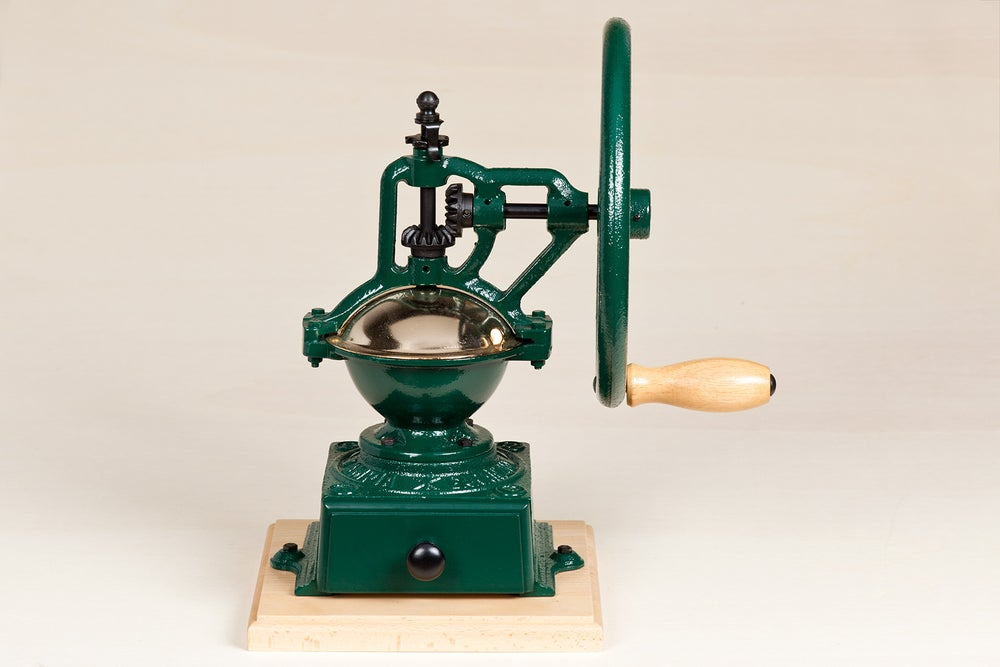 Image of MACINACAFFE' A VOLANO / MANUAL COFFEE GRINDER