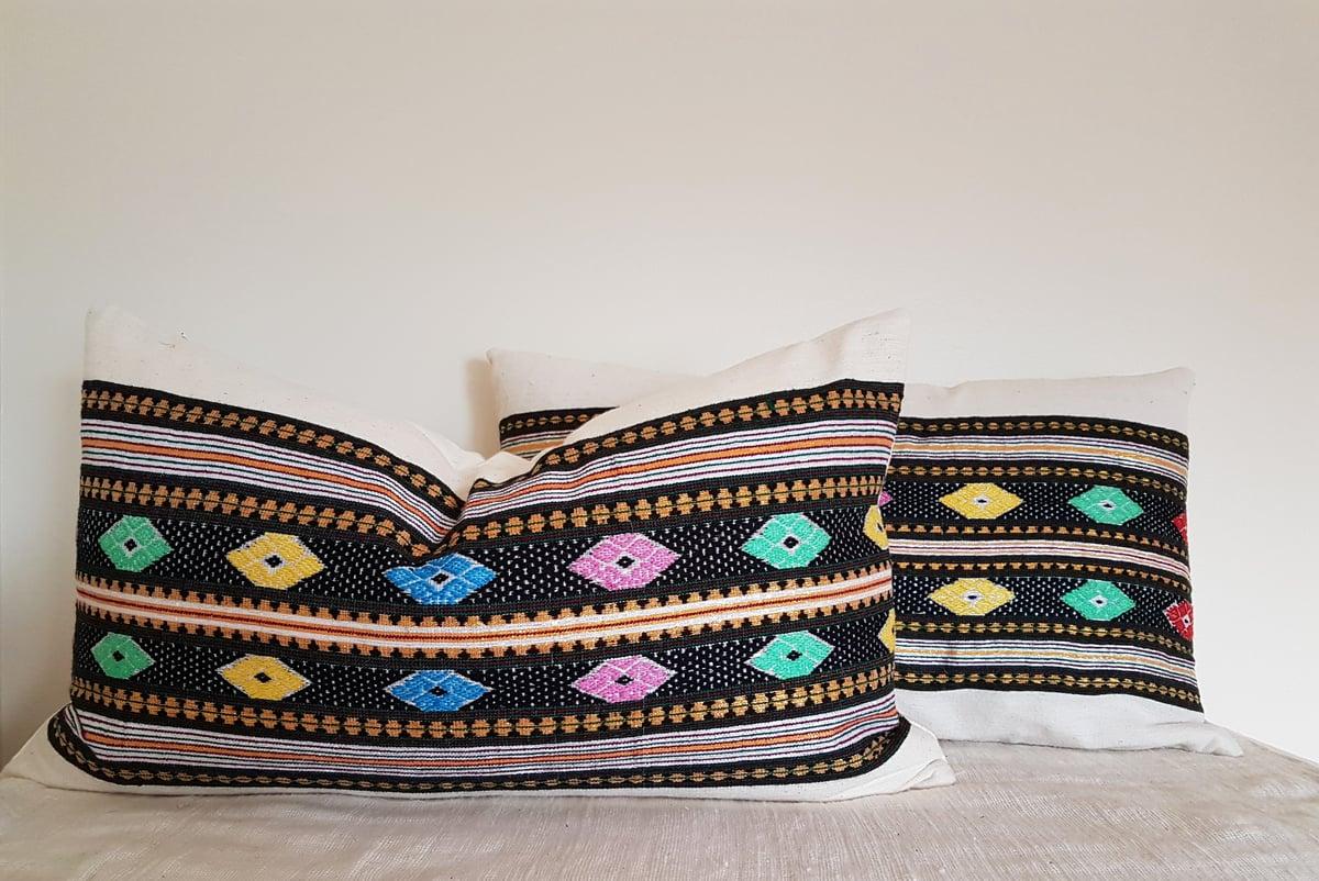 Image of Almaz Lumbar Pillow Cover
