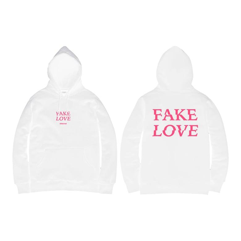 Image of Untamed - Fake Love Hoodie