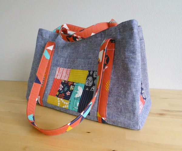 Image of SEWING CIRCLE TOTE pdf sewing pattern
