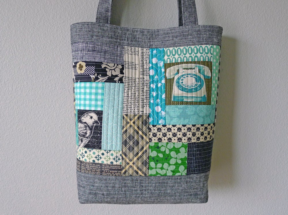 Patterns by Elizabeth Hartman — PERFECT QUILTED TOTES pdf sewing pattern