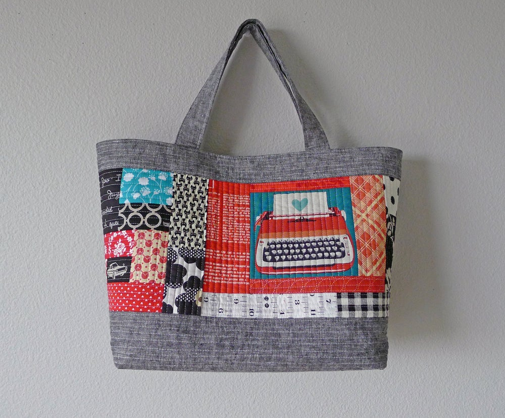 quilted quilt shop tote kind