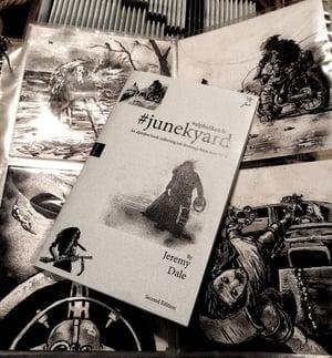 Junekyard #alphaSketch Books/Originals