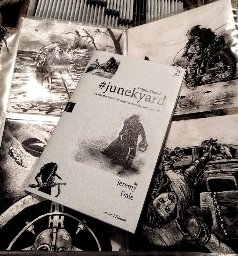Image of Junekyard #alphaSketch Books/Originals