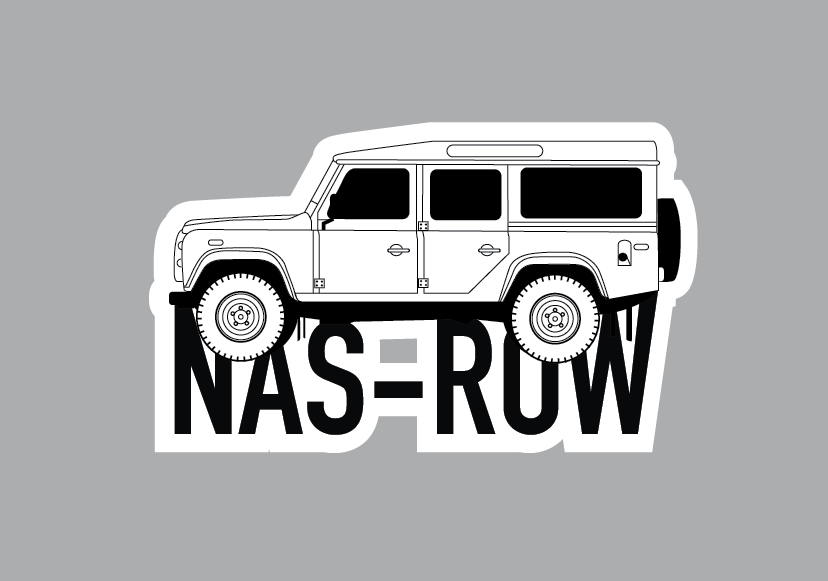 Image of NAS ROW Decal