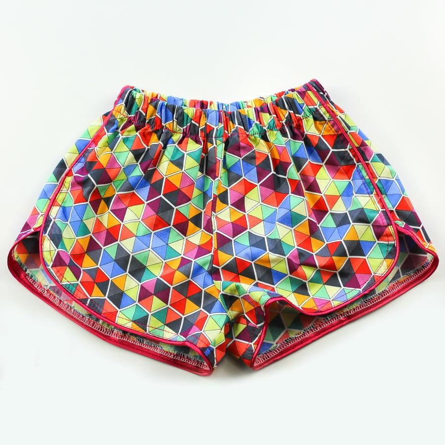 Image of Little Traveller Shorts - Spectrum