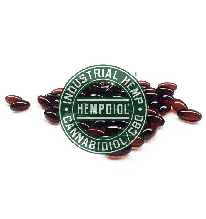 Image of Hempdiol® CBD Water-Soluble Soft Gel / Capsules