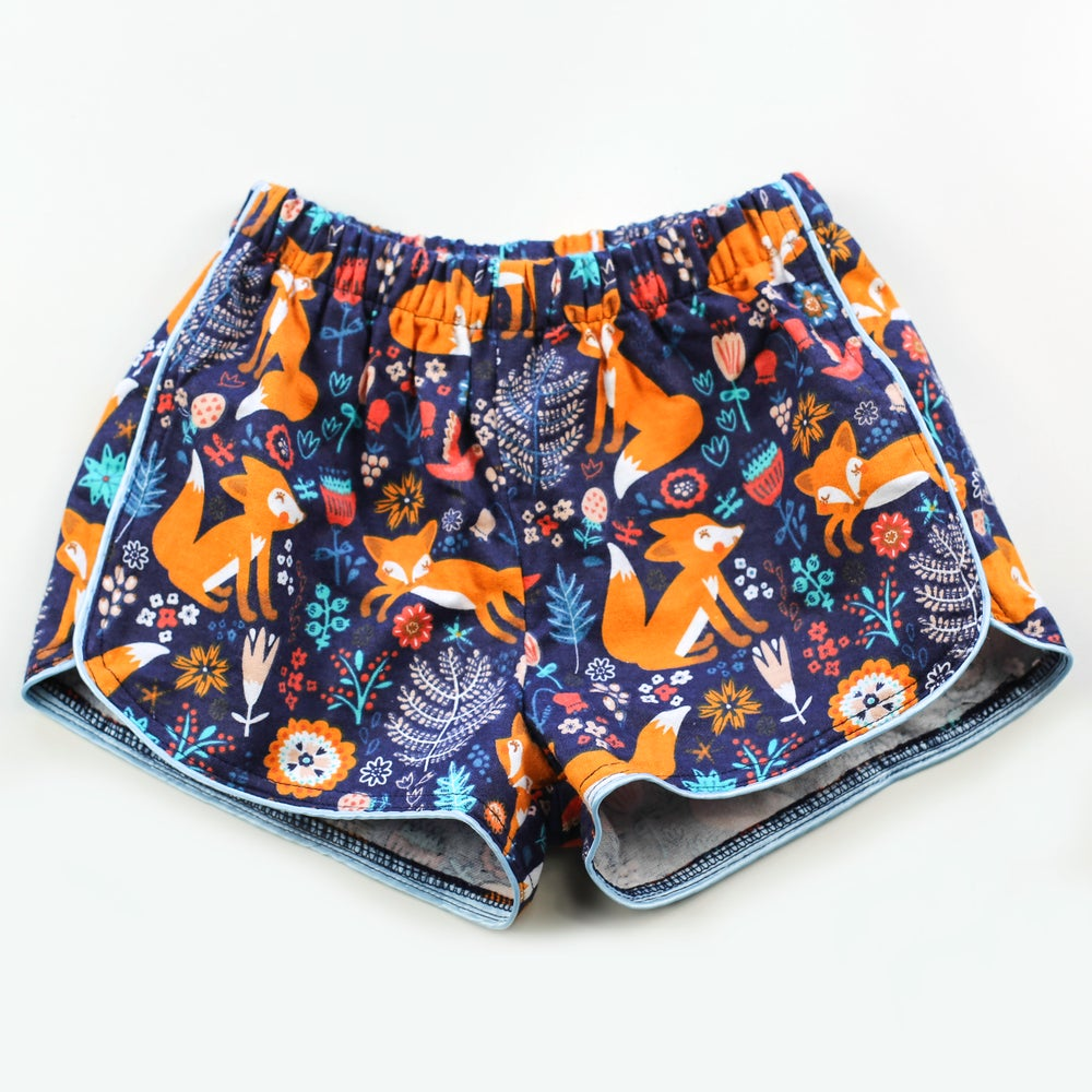Image of Little Traveller Shorts - Fox Forest