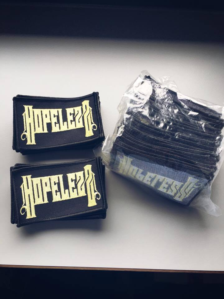 Image of Patches - Hopelezz Logo - SALE 30%