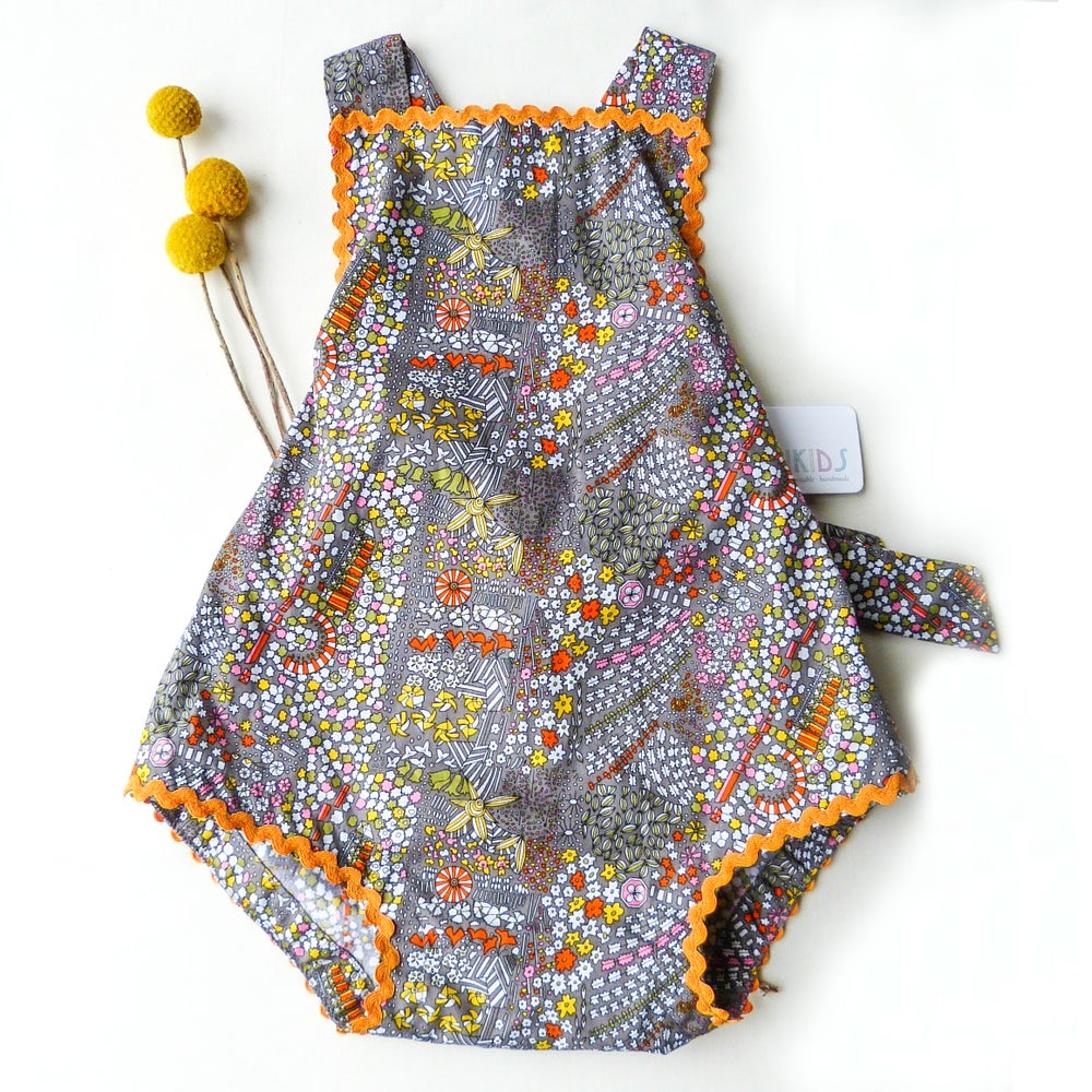 Image of Vintage Bambini Playsuit - Marigold