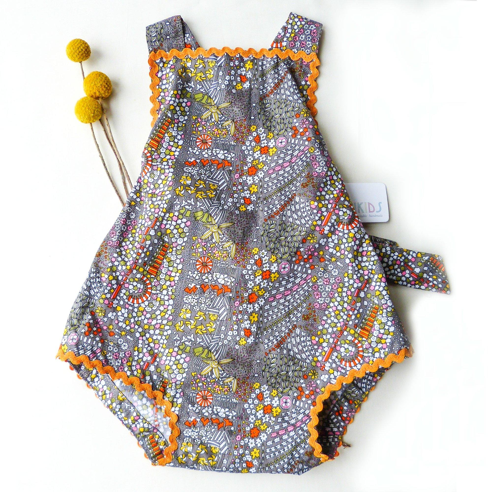6f02f8aa0 www.nimbikids.com — Vintage Bambini Playsuit - Marigold