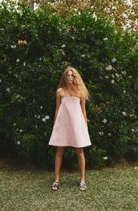 Image of ROSE STRAPLESS DRESS