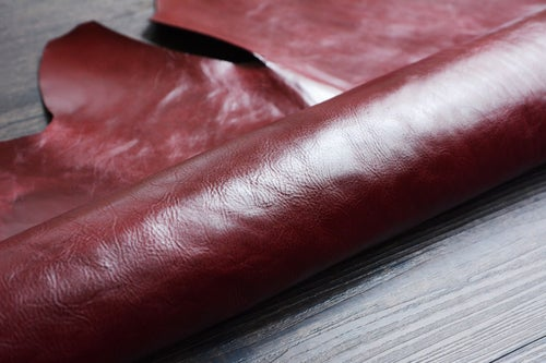 Image of Vegetable Tanned Leather Material Options