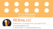 Image of Tap That! Our Beer Loyalty/Rewards Card