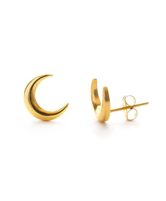 Image of Gold Moon Studs