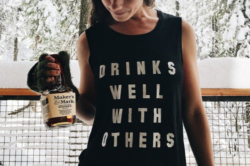 Image of DRINKS WELL WITH OTHERS muscle tank